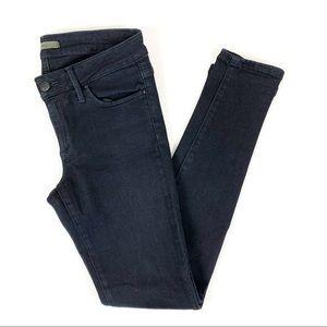 Joe's Jeans Sassy Skinny Ankle Regan Black Size 28